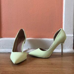 Spring Stiletto Heels